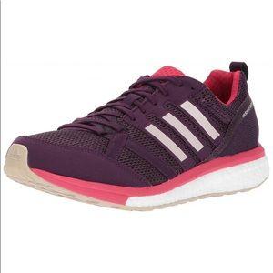 Adidas adizero purple pink running sneaker sz 8.5
